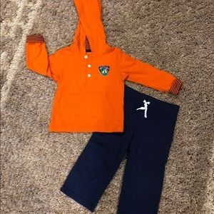 "Carter's Boys 2T ""Daddy's Happy Camper"" Set"